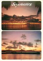 CPSM Seychelles-Multivues-Beau Timbre   L692 - Seychelles