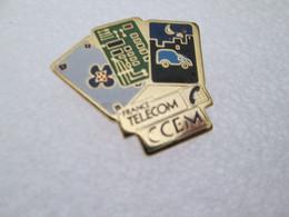 PIN'S    FRANCE TELECOM   C C E M - Telecom Francesi
