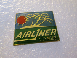 PIN'S   AVION   AIRLINER   VOYAGES - Aerei
