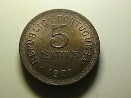 Portugal 5 Centavos 1921 - Portugal