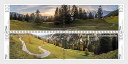 Liechtenstein - Postfris / MNH - Complete Set Panorama's 2021 - Ungebraucht
