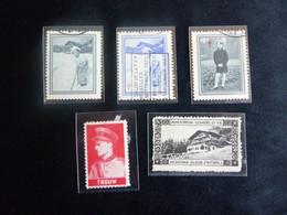 BELG.1937 Prive Uitgifte Boudewijn-Boudouin & Leopold III - Private & Local Mails