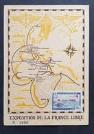France Colonies Algérie - Timbre(s) Sur Belle Carte Commémorative (O) - TB - D008 - Storia Postale