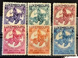 LUXEMBOURG 1934 - MLH - Sc# B60-B65 - Ungebraucht