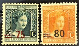 LUXEMBOURG 1916/24 - MLH - Sc# 122, 123 - 1914-24 Marie-Adélaïde