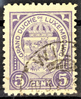 LUXEMBOURG 1906/26 - Canceled - Sc# 79 - 1906 Wilhelm IV.