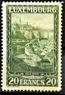LUXEMBOURG 1931 - MLH - Sc# 197 - Ungebraucht