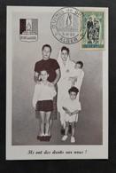 France Colonies Algérie - Timbre(s) Sur Belle Carte Commémorative (O) - TB - D009 - Storia Postale