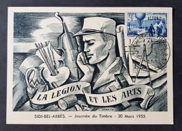 France Colonies Algérie - Timbre(s) Sur Belle Carte Commémorative (O) - TB - D012 - Storia Postale