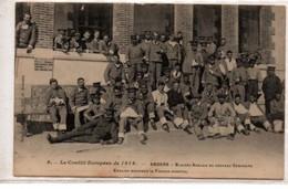 Angers-Blessés Anglais Du Nouveau Séminaire-Guerre 1914 - Angers