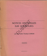 HOMBOURG/Blieberg - Notices Historiques - F. Dubois (V368) - Antique