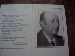 Doodsprentje/bidprentje  ANDRE CAULIER (Wedr Magdalena DELBOO) Poperinge 1913 - 2000 - Religione & Esoterismo