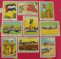 Lot 9 Images Chocolat Pupier. Album Asie 1938. Irak. Bagdad Cheick Omar Fayçal Euphrate Carte Drapeau - Altri