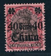 Deutsche Auslandspostämter China Michel Nummer 33 Gestempelt - Deutsche Post In China