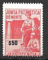 Portugal 1919/1919 - Vinheta Da Junta Patriótica Do Norte - $50 - Unused Stamps