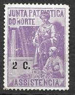 Portugal 1919/1919 - Vinheta Da Junta Patriótica Do Norte - 2 C - Unused Stamps
