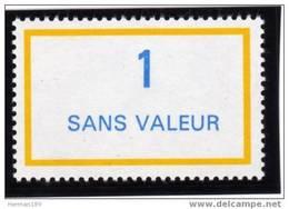 FRANCE FICTIF N° F244 ** MNH Timbre Neuf Gomme D'origine Sans Trace De Charnière - TB - Phantomausgaben