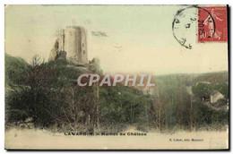 CPA Lavardin Ruines Du Chateau - Unclassified