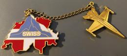AVION - PLANE - PATROUILLE SUISSE - FLUGZEUG - AEREO - SCHWEIZ - SWITZERLAND - SVIZZERA - EGF - CERVIN - SWISS ARMY-(22) - Aerei