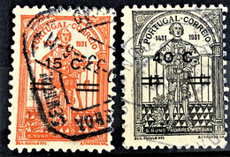 PORTUGAL 1933 - Canceled - Sc# 549, 550 - Gebraucht