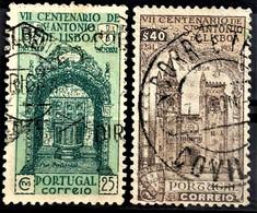 PORTUGAL 1931 - Canceled - Sc# 529, 530 - Gebraucht