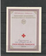 FRANCE - CARNET CROIX ROUGE NEUF** - TIMBRES N° 1187/1188 - 1958 - VOIR 2 SCANS - Rode Kruis