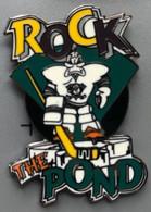 HOCKEY SUR GLACE - ICE - NHL - MIGHTY DUCKS - ROCK - THE POND - CANARD - CANNE - GOALIE - EGF - EISHOCKEY - GOAL -  (26) - Sport Invernali
