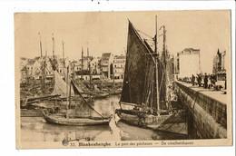 CPA  Carte Postale Belgique- Blankenberghe Le Port Des Pêcheurs 1939 VM32598 - Blankenberge