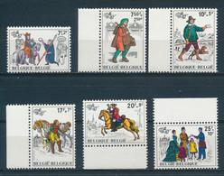 België/Belgium/Belgique/Belgien 1982 Mi: 2123-2128 Yt: 2071-2076 (PF/MNH/Neuf Sans Ch/nuovo Senza C./**)(5819) - Nuovi