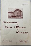 LIVRET ÉTABLISSEMENT DE CURES MARINES DE TROUVILLE CALVADOS NORMANDIE ENGLISH/FRENCH - Normandie