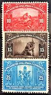 YUGOSLAVIA 1921 - MLH - SC# B1-B3 - Neufs