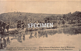 Est Africain Allemand - Une Colonne D'Ambulance Dans La Mugessera - Congo - 5 Centimes Stamp - Other