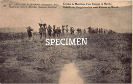 Est Africain Allemand - Echelon De Munitions D'une Colonne En Marche - Congo - 5 Centimes Stamp - Other