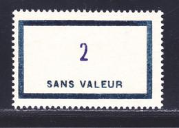 FRANCE FICTIF N° F153 ** MNH Neuf Sans Charnière, TB - Phantomausgaben