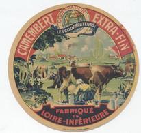 Etiquette Camembert, Loire Inferieure - Cheese