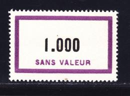 FRANCE FICTIF N° F139 ** MNH Neuf Sans Charnière, Petite Tâche En Bas, B/TB - Phantomausgaben