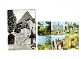 Lot 2 Cpm - 45 - CHATILLON COLIGNY - Donjon Mairie Puits Du Chateau Orangerie - L'Enfer Lieu De Réunion Des Protestants - Chatillon Coligny