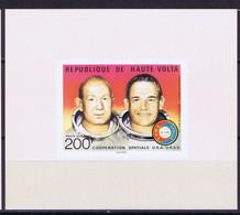 Upper Volta Space 1975 ASTP Apollo-Soyuz Mission - Upper Volta (1958-1984)