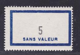 FRANCE FICTIF N° F155 ** MNH Neuf Sans Charnière, TB - Phantomausgaben