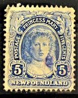 NEWFOUNDLAND 1911 - Canceled - Sc# 108 - 5c - 1908-1947