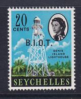 British Indian Territory (BIOT): 1968   QE II - Pictorial 'B.I.O.T.' OVPT   SG4    20c   MH - British Indian Ocean Territory (BIOT)
