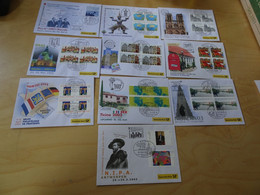 Dt. Post Messebelege Jahrgang 2003 Komplett (17011) - Covers & Documents