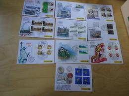 Dt. Post Messebelege Jahrgang 2002 Komplett (17010) - Covers & Documents