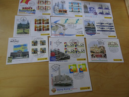 Dt. Post Messebelege Jahrgang 2004 Komplett (17012) - Covers & Documents