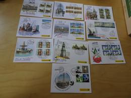 Dt. Post Messebelege Jahrgang 2005 Komplett (17013) - Covers & Documents