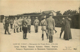 RUSSIE , RUSSIA  Mailly Le Camp  Debarquement Des Troupes Russes - Russie