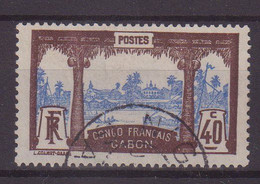 GABON : N° 42 . OBL  . TB . 1910 . ( CATALOGUE YVERT ) . - Gebruikt
