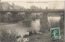 CPA - 70 - Jonvelle - Pont Sur La Saône - Animée - Other Municipalities
