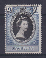 Seychelles: 1953   Coronation     Used - Seychelles (...-1976)