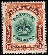 1902. LABUAN. LABUAN COLONY 16 CENTS. () - JF420794 - Unclassified